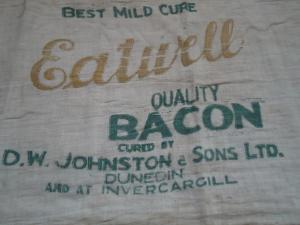Cloth bacon bag
