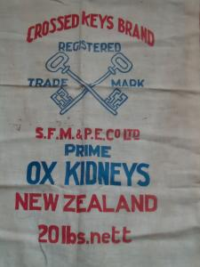 Ox kidneys cloth bag