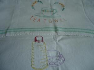 Two tea towels